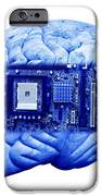 Artificial Intelligence And Cybernetics IPhone Case by Victor De Schwanberg