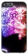 Brain Design By Cogs And Gears IPhone Case by Setsiri Silapasuwanchai