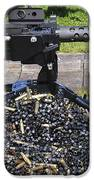 A .50 Caliber Browning Machine Gun IPhone Case by Andrew Chittock
