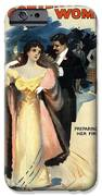 A Contented Woman, C1898 IPhone Case by Granger