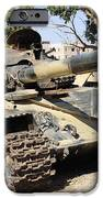 A T-72 Tank Destroyed By Nato Forces IPhone Case by Andrew Chittock