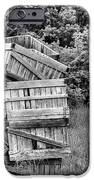 Apple Crate Bw IPhone Case by JC Findley