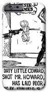 Ballad Of Jesse James IPhone Case by Granger