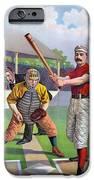 Baseball Game, C1895 IPhone Case by Granger
