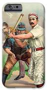 Baseball Player, C1895 IPhone Case by Granger
