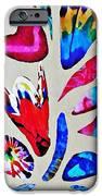Batik Bouquet IPhone Case by Sarah Loft