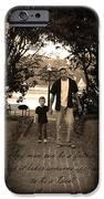 Be A Dad IPhone Case by Kelly Hazel