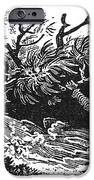 Bewick: Man Drowning IPhone Case by Granger