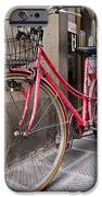 Bicycles Parked In The Street IPhone Case by Jeremy Woodhouse