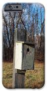 Birdhouse On A Pole IPhone Case by Robert Margetts