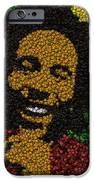 Bob Marley Bottle Cap Mosaic IPhone Case by Paul Van Scott