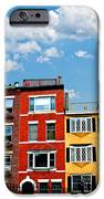 Boston Houses IPhone Case by Elena Elisseeva