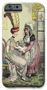 Breastfeeding, 18th-century Caricature IPhone Case by Miriam And Ira D. Wallach Division Of Art, Prints And Photographsnew York Public Library