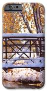 Bridge Over Icy Waters IPhone Case by James BO  Insogna