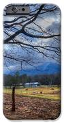 Cades Cove Lane IPhone Case by Debra and Dave Vanderlaan