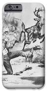 Cartoon: Election Of 1856 IPhone Case by Granger