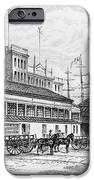 Catharine Market, 1850 IPhone Case by Granger