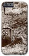 Cedar Pete Gravesite In Grafton Utah IPhone Case by Steve Gadomski