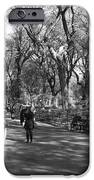 Central Park Mall In Black And White IPhone Case by Rob Hans