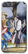 Charles I's Last Walk  IPhone Case by Ron Embleton