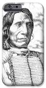 Chief-red-cloud IPhone Case by Gordon Punt