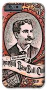 Cincinnati Baseball IPhone Case by George Pedro