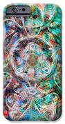 Circles Of Life IPhone Case by Mo T