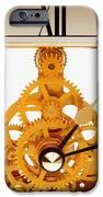Clock Mechanism IPhone Case by Victor De Schwanberg