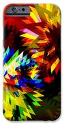 Colorful Blade IPhone Case by Atiketta Sangasaeng