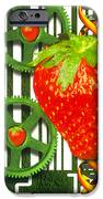 Conceptual Image Of Genetically-engineered Fruit IPhone Case by Victor Habbick Visions