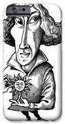 Copernicus, Caricature IPhone Case by Gary Brown