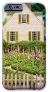 Cottage And Garden IPhone Case by Jill Battaglia