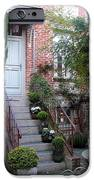 Courtyard In Honfleur IPhone Case by Carla Parris