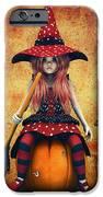 Cutest Little Witch IPhone Case by Jutta Maria Pusl