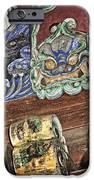 Daigoji Temple Gate Gargoyle - Kyoto Japan IPhone Case by Daniel Hagerman