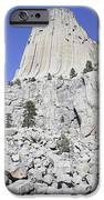 Devils Tower National Monument, Wyoming IPhone Case by Richard Roscoe