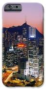 Downtown Hong Kong At Dusk IPhone Case by Jeremy Woodhouse
