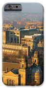Edinburgh On A Winter's Day IPhone Case by Christine Till