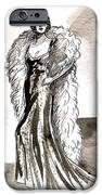 Feather Boa IPhone Case by Mel Thompson