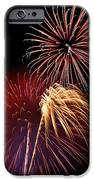 Fireworks Wixom 3 IPhone Case by Michael Peychich