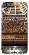 Fisher Building Chicago IPhone Case by Steve Gadomski