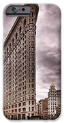 Flat Iron Building IPhone Case by Michael Dorn