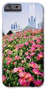 Flowers And Architecture Around Peoples Square IPhone Case by Jeremy Woodhouse