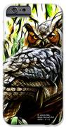 Fractal-s -great Horned Owl - 4336 IPhone 6s Case by James Ahn