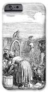 France: Grape Harvest, 1854 IPhone Case by Granger