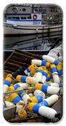 French Creek Trawlers IPhone Case by Bob Christopher