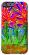 Funky Flower Towers IPhone Case by Angela L Walker