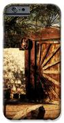 Gate To Cowboy Heaven In Old Tuscon Az IPhone Case by Susanne Van Hulst