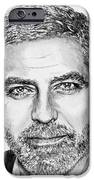 George Clooney In 2009 IPhone Case by J McCombie