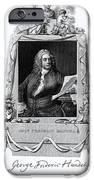 George Frideric Handel, German Baroque IPhone Case by Omikron